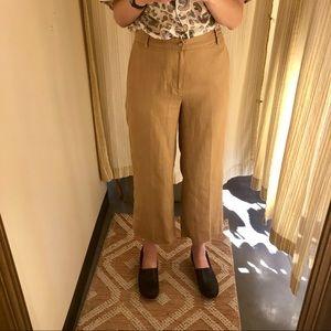 Cropped Khaki Linen Pants / Ralph Lauren 4